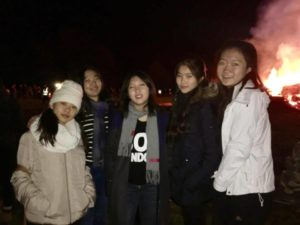 boarders do bonfire