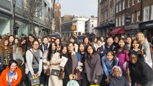 boarders visit charlie and the chocolate factory in london