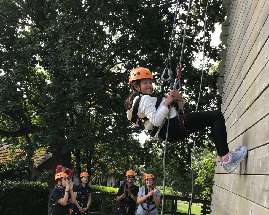 Abseiling - Boarding Induction Week - Burgess Hill Girls