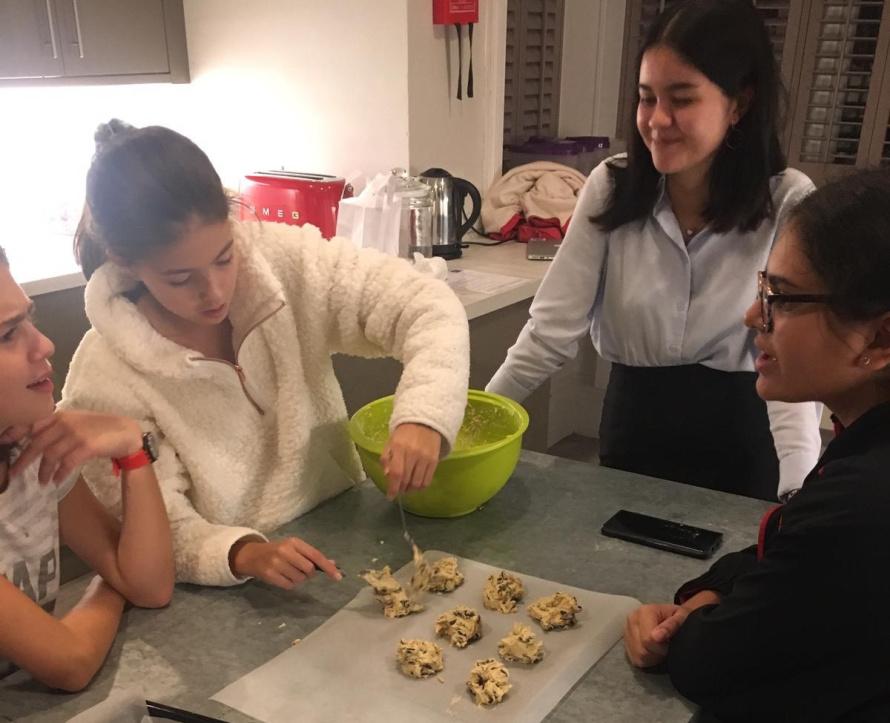 Baking Cookies Boarding Burgess Hill Girls