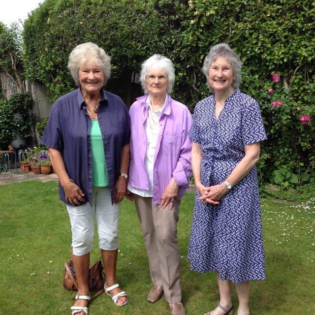 Belinda, Ingrid and Joanna 2019
