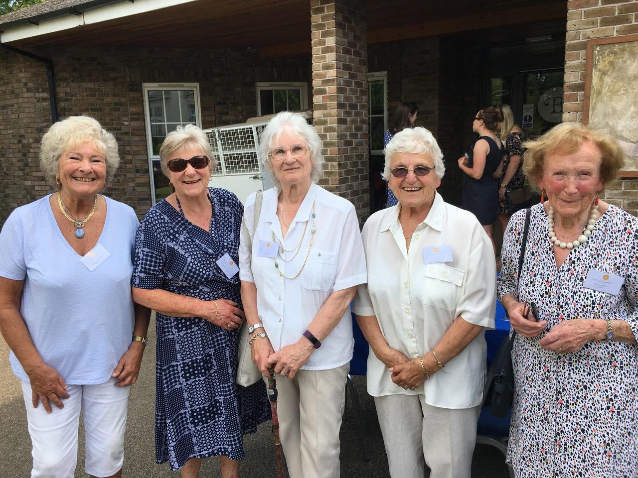 Belinda, Susan, Ingrid, Frances, Margaret 2019.