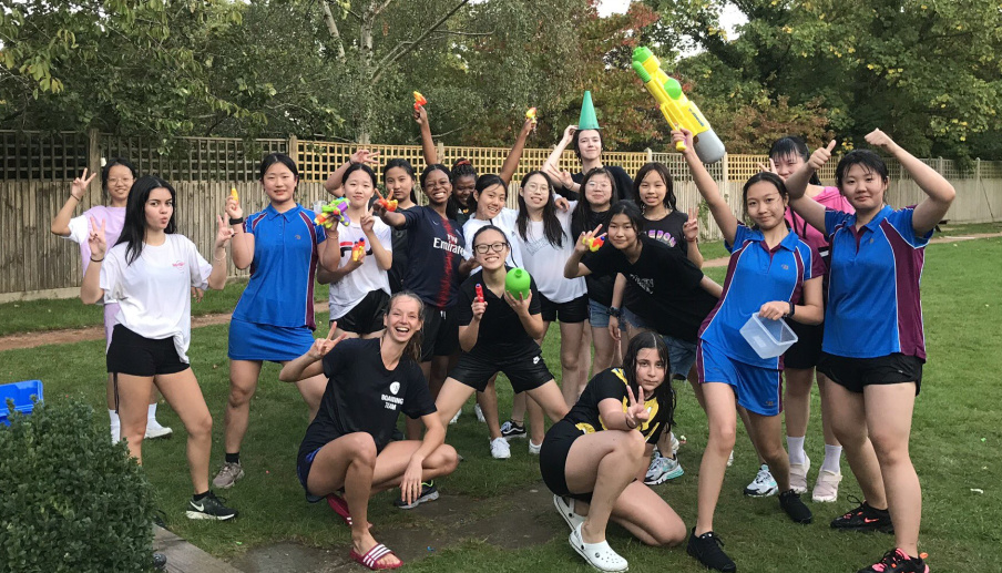 Burgess Hill Girls Boarding - Water Fight