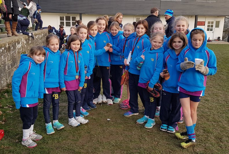 Burgess Hill Girls Junior Cross Country
