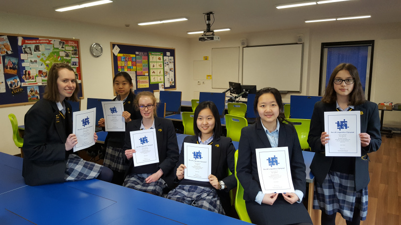 Burgess Hill Girls Linguistics Olympiad