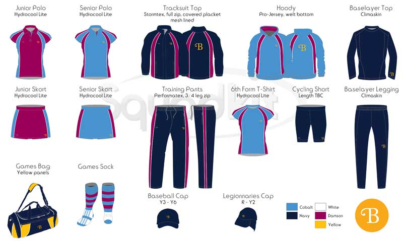 Burgess Hill Girls Sports online-uniform-shop