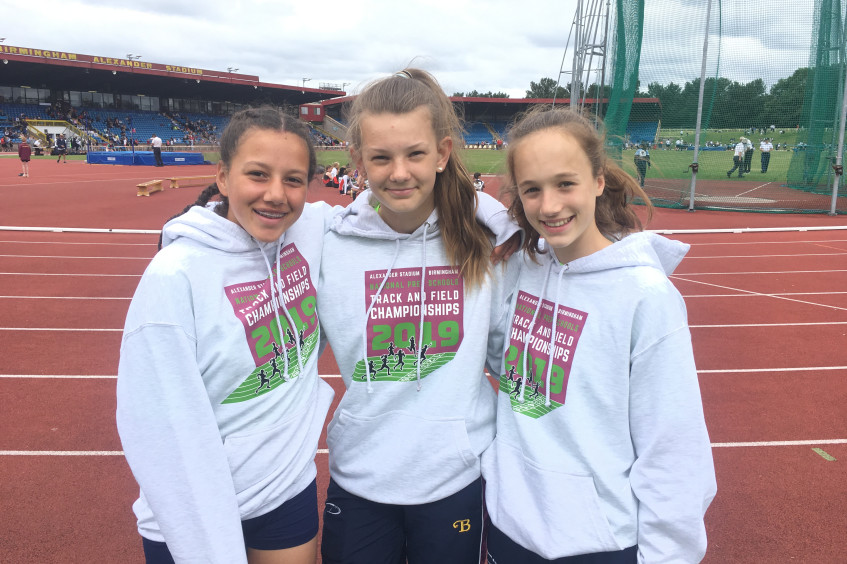 Burgess.Hill.Girls.Represent.Sussex.in.National.Athletics.Finals