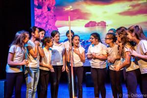Burgess Hill Girls Drama Feathers Production
