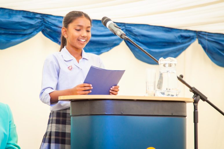 Junior School Head Prefect 2018 Amelia Ganesalingam