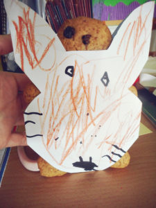 Fox and gingerbread