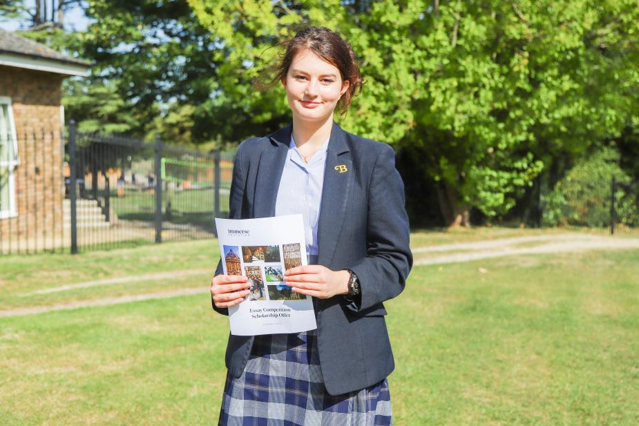 Georgina Wins Prestigious Essay Writing Competition
