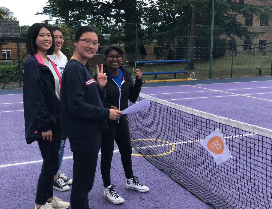 Getting to know the school - Boarding Induction Week - Burgess Hill Girls