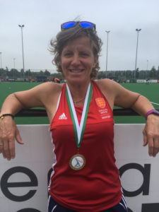Gold.At.The.European.Hockey.Championships.For.Suzy.Clapp
