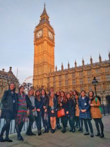 6th formers visit houses of parliament