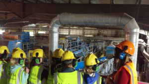 Junios School Visit to Ford Materials Recycling Facility