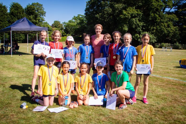 Lizzy Yarnold Burgess Hill Girls Junior School Sports Day