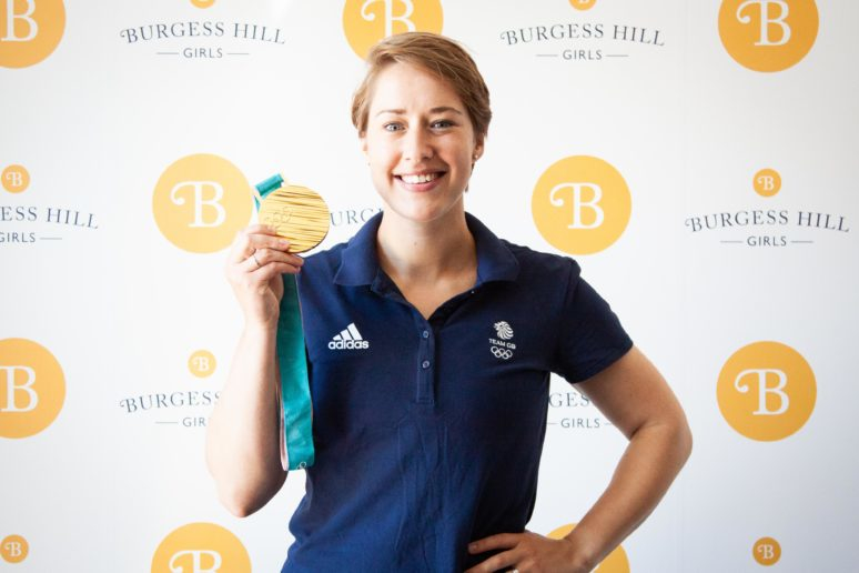 Lizzy Yarnold at Burgess Hill Girls