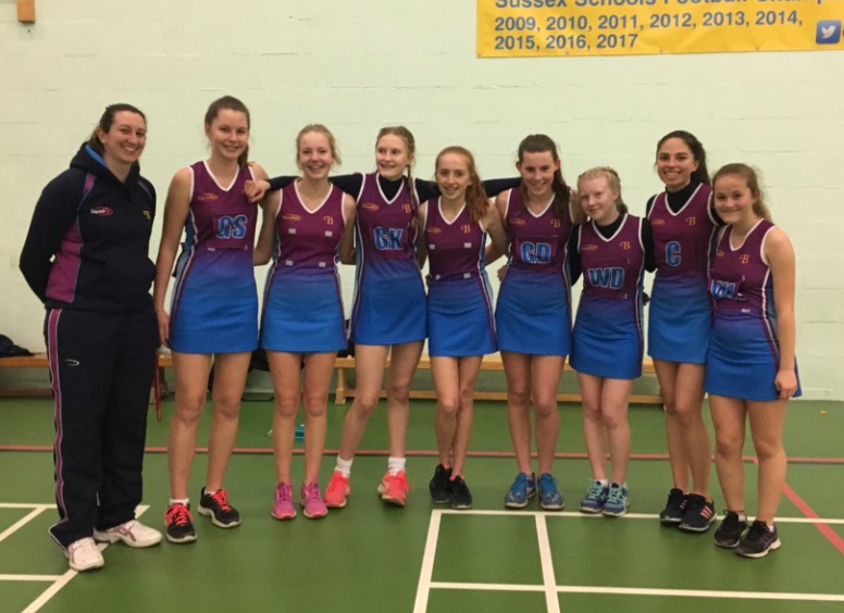 Netballers Burgess Hill Girls