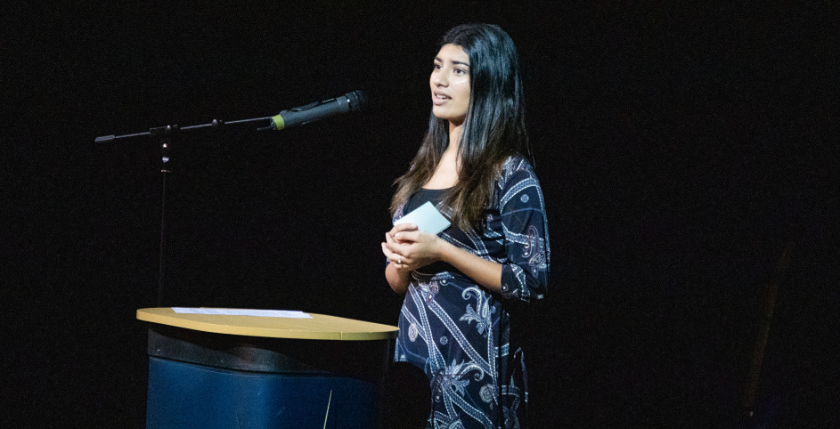 Nikita Khandwala Speaks at Burgess Hill Girls 2019