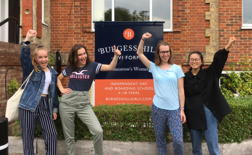 Podium Success for Sixth Formers Burgess Hill Girls
