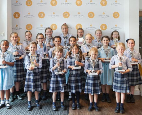 Prize Winners Burgess Hill Girls Junior
