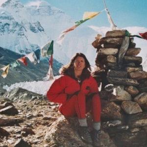 Mountain Climber Rebecca Stephens