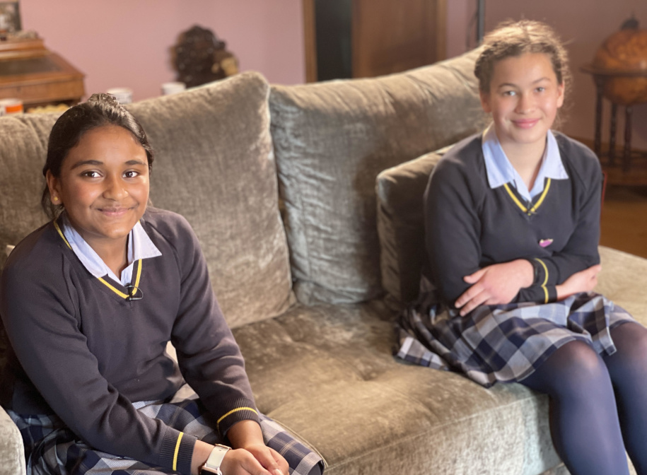 Sankavi and Amber Burgess Hill Girls