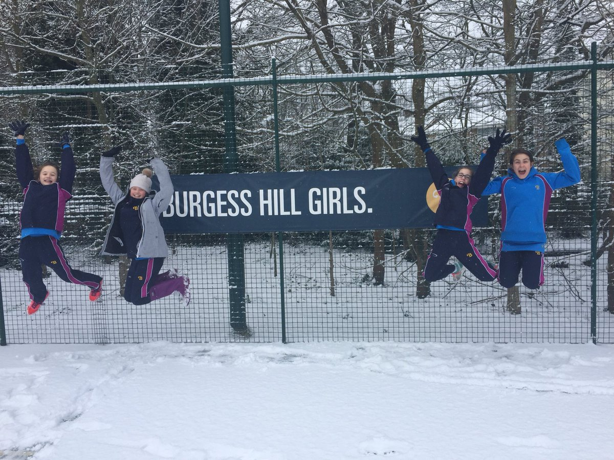 Snow Feb 18 Burgess Hill Girls 11