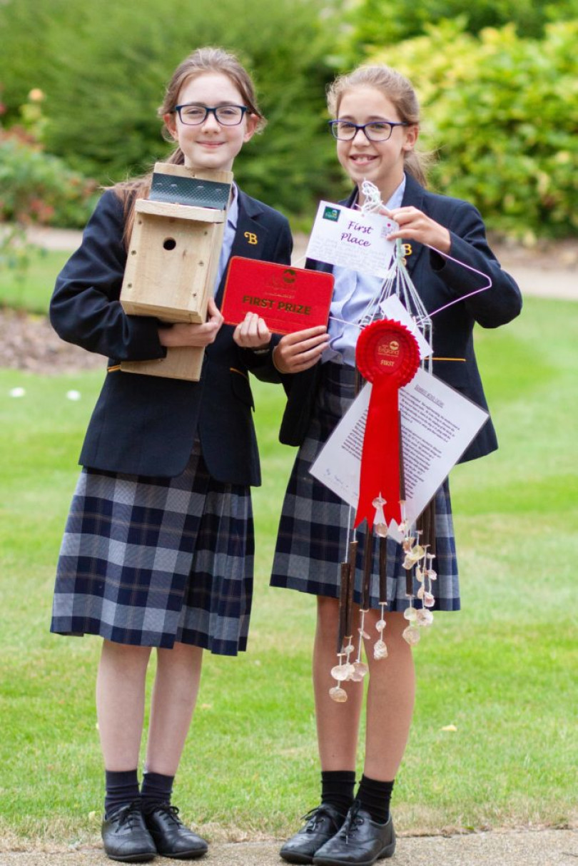 South East of England Agriculture Competition Burgess Hill Girls