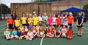 Juniors & Seniors at Netball & Hockey Camp