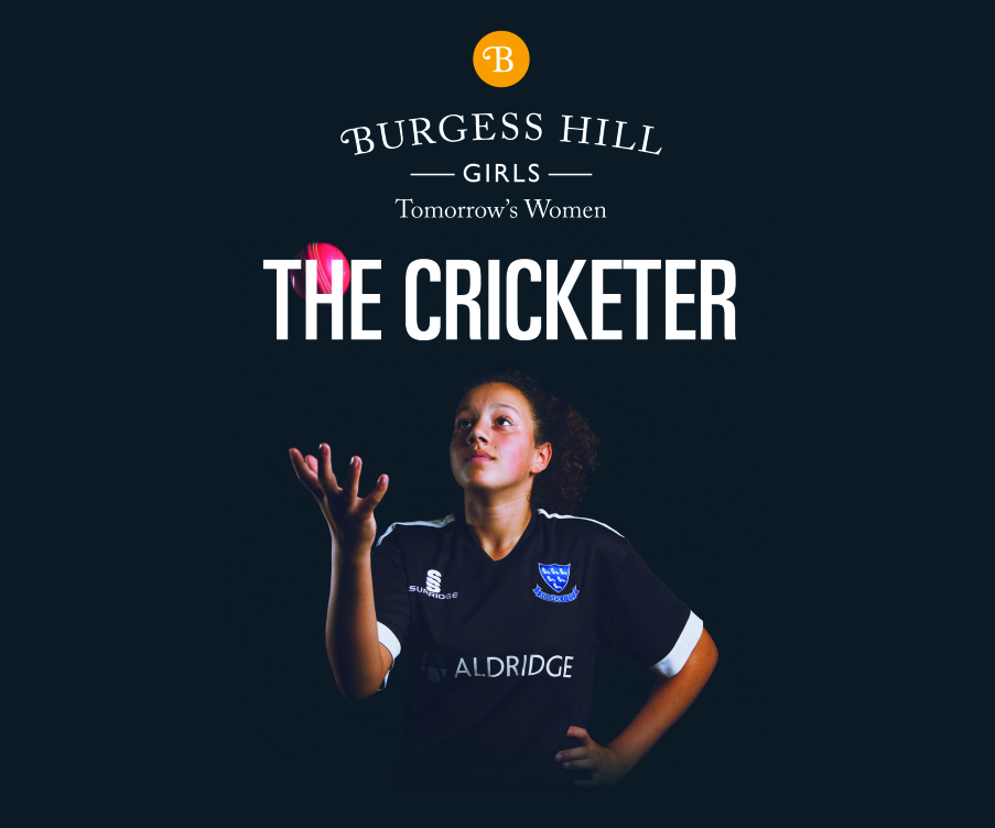 Tia Sussex Cricketer Burgess Hill Girls