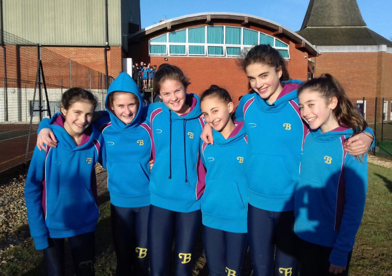Burgess Hill Girls Under 13 Cross Country Walstead