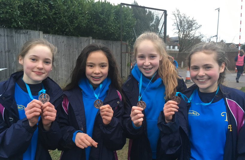 Year 9 Cross Country Burgess Hill Girls
