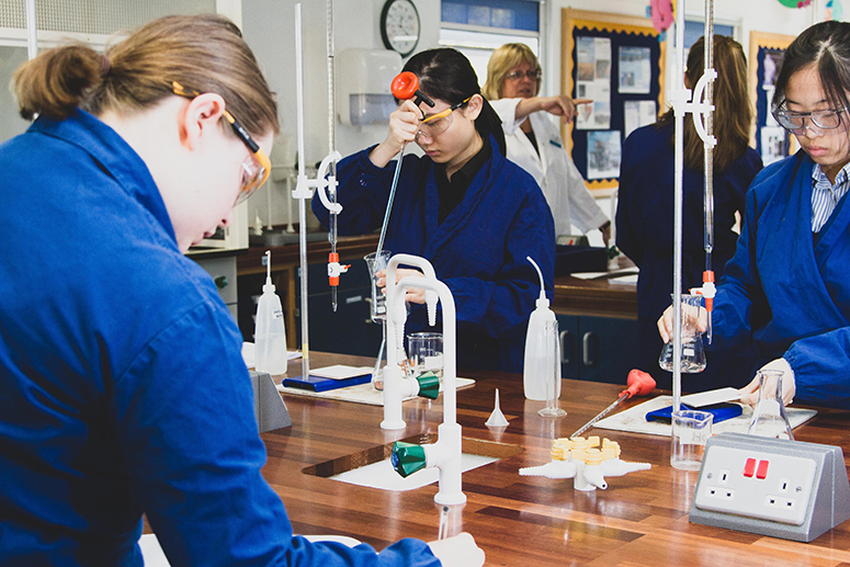 A level Chemistry at Burgess Hill Girls