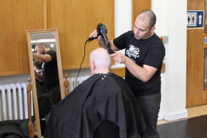 Jimmy's Barbers at Burgess Hill Girls