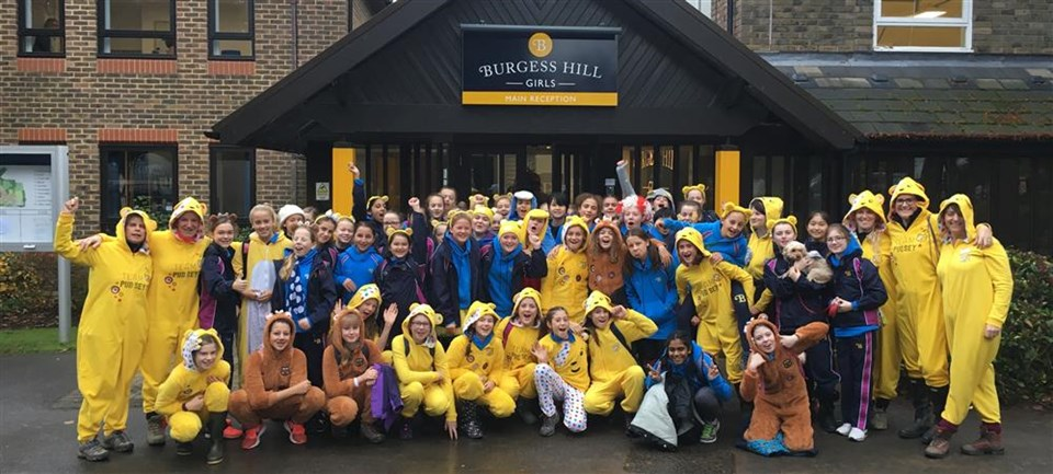 Year 7 and 8 Children in Need Fundraiser Burgess Hill Girls