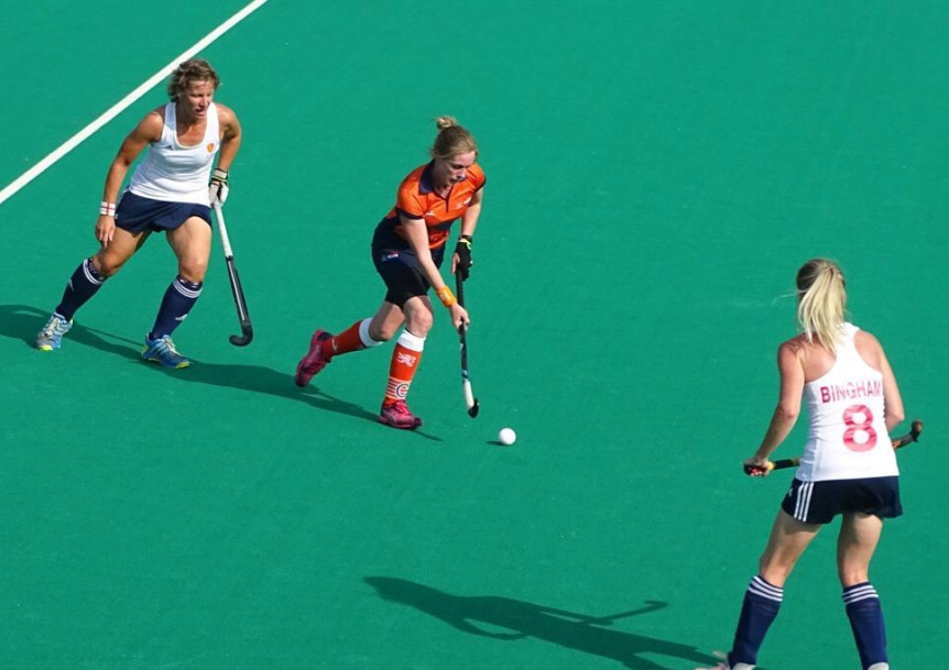 Suzy Clapp England Masters Hockey Player