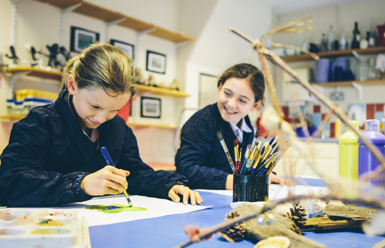 Junior Art and Design at Burgess Hill Girls
