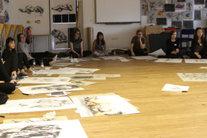 Life Drawing Workshop with Royal Academy - Burgess Hill Girls