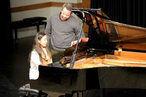 Peter Jablonski masterclass at Burgess Hill Girls