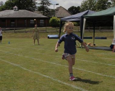 nursery sports day at Burgess Hill Girls