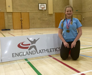 Peanut Inter county shot putt champion